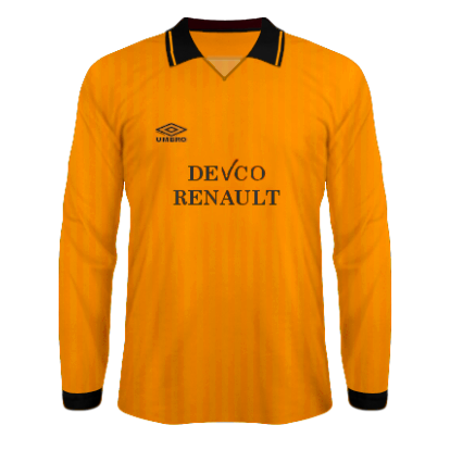 1990/91 Home
